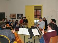 initiation aux instruments à cordes par le groupe Kadenza