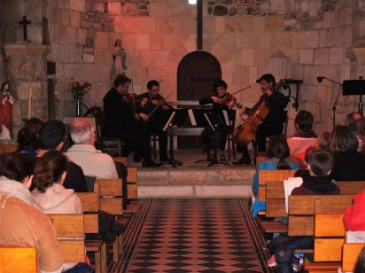 concert du groupe Kadenza dans l'église de l'assomption