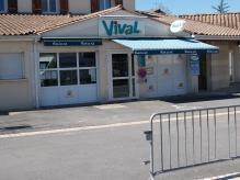 Boucherie, épicerie Vival
